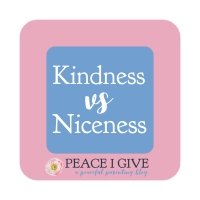 Kindness vs Niceness
