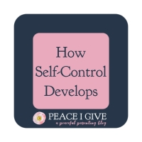 How Self-Control Develops