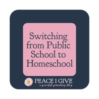 Switching from Public School to Homeschool