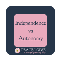 Independence vs Autonomy