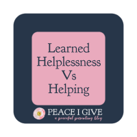 Learned Helplessness Vs Helping